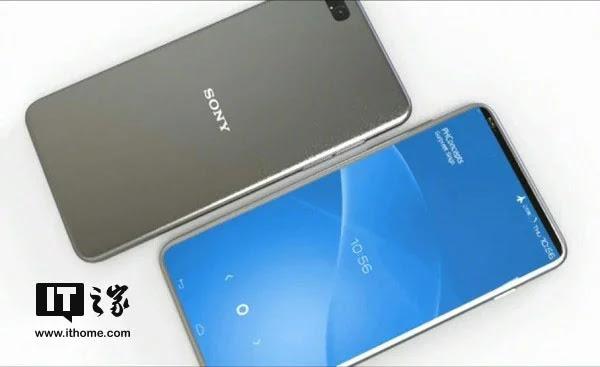 Sony Xperia A Edge Bezel-Less dengan Snapdragon 845 dan Layar 6 inci