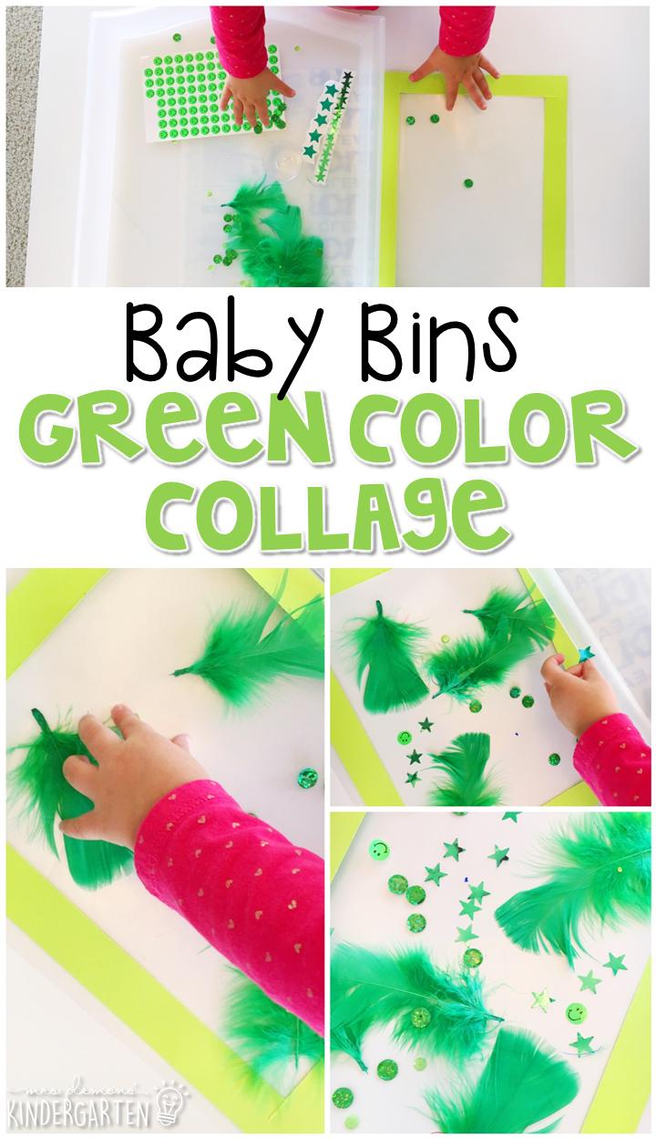 Baby Bins: Green Theme - Mrs. Plemons\' Kindergarten