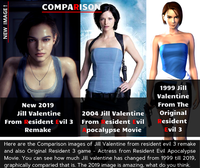 Resident Evil 3 Remake Trailer In 4k 2160p Will Release