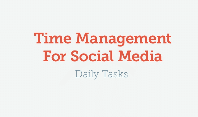 Image: Time Management for Social Media