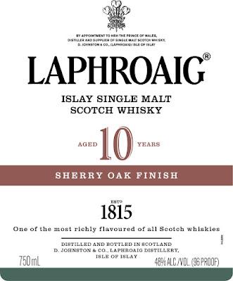 Laphroaig 10 Sherry Oak finish