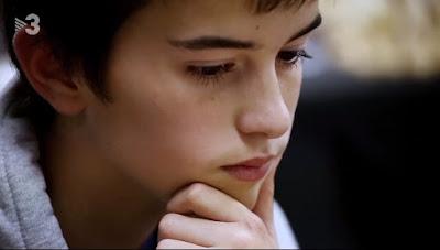 El ajedrecista Sub-12 Edgar Roca
