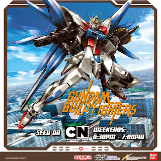Gundam Build Fighters (English dubbed) on TV at Cartoon Network Philippines channel
