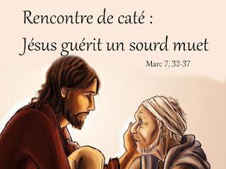 cate jesus guerit un sourd muet