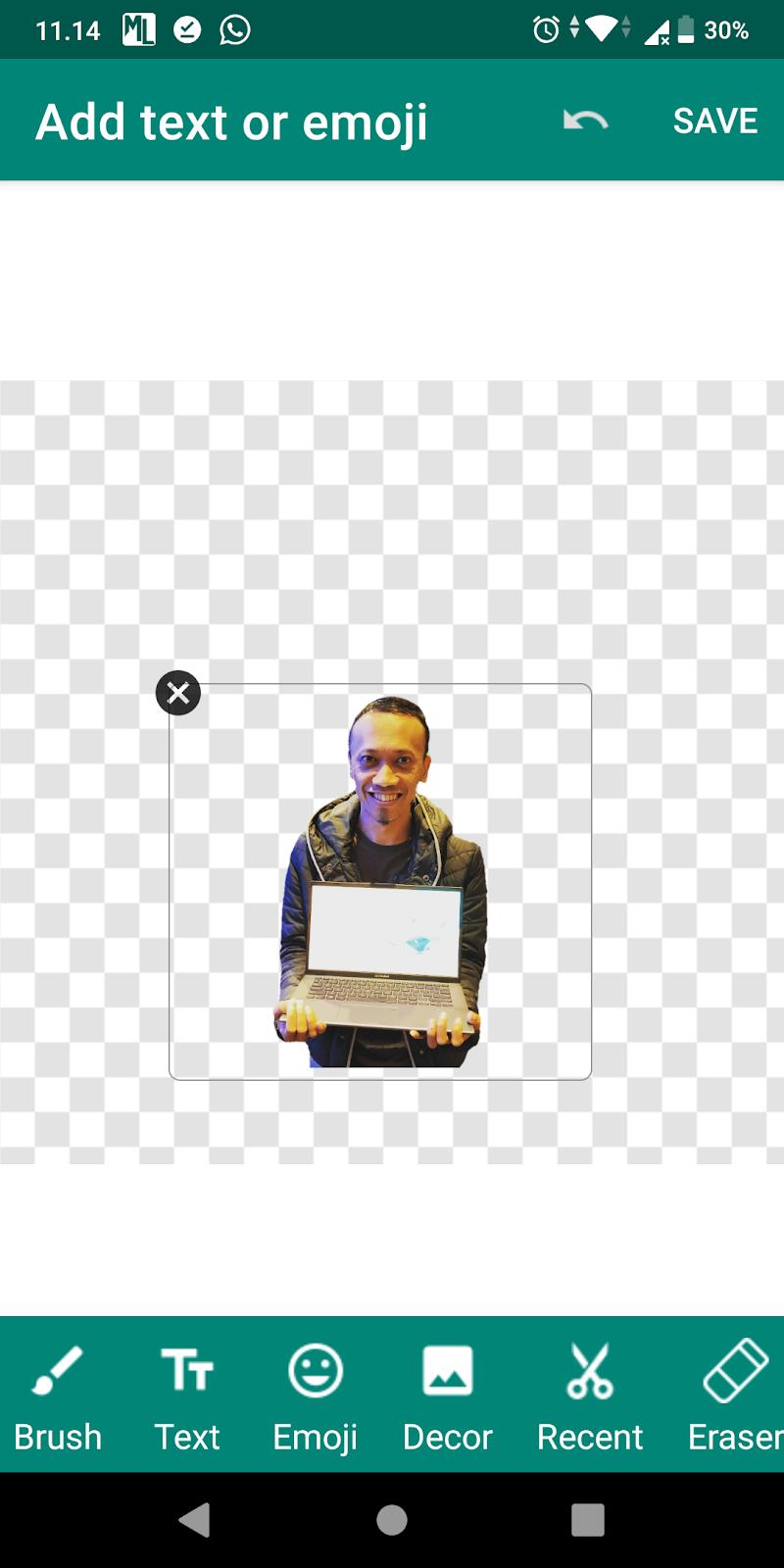 Cara Membuat Stiker Whatsapp Foto Wajah Sendiri Aplikasi Hp Android