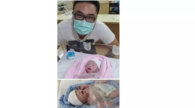Bayi Kembar Cynthia Lamusu
