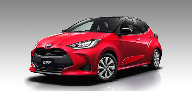 2020 Toyota Yaris Front