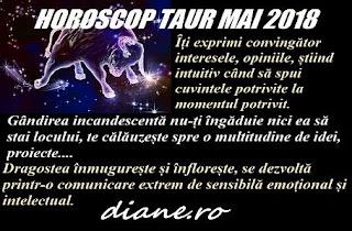 Horoscop mai 2018 Taur