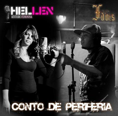 """Fdois lança a musica """"Conto de Periferia"""" com participação da Hellen Atitude Feminina"""