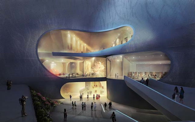 Three Museums One Square, Architecture, Design, Contemporary Architecture, Contemporary Modern Architecture, Three Museums one square, Museum,