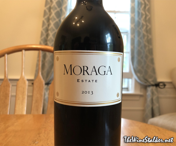 Moraga Estate Red Wine 2013