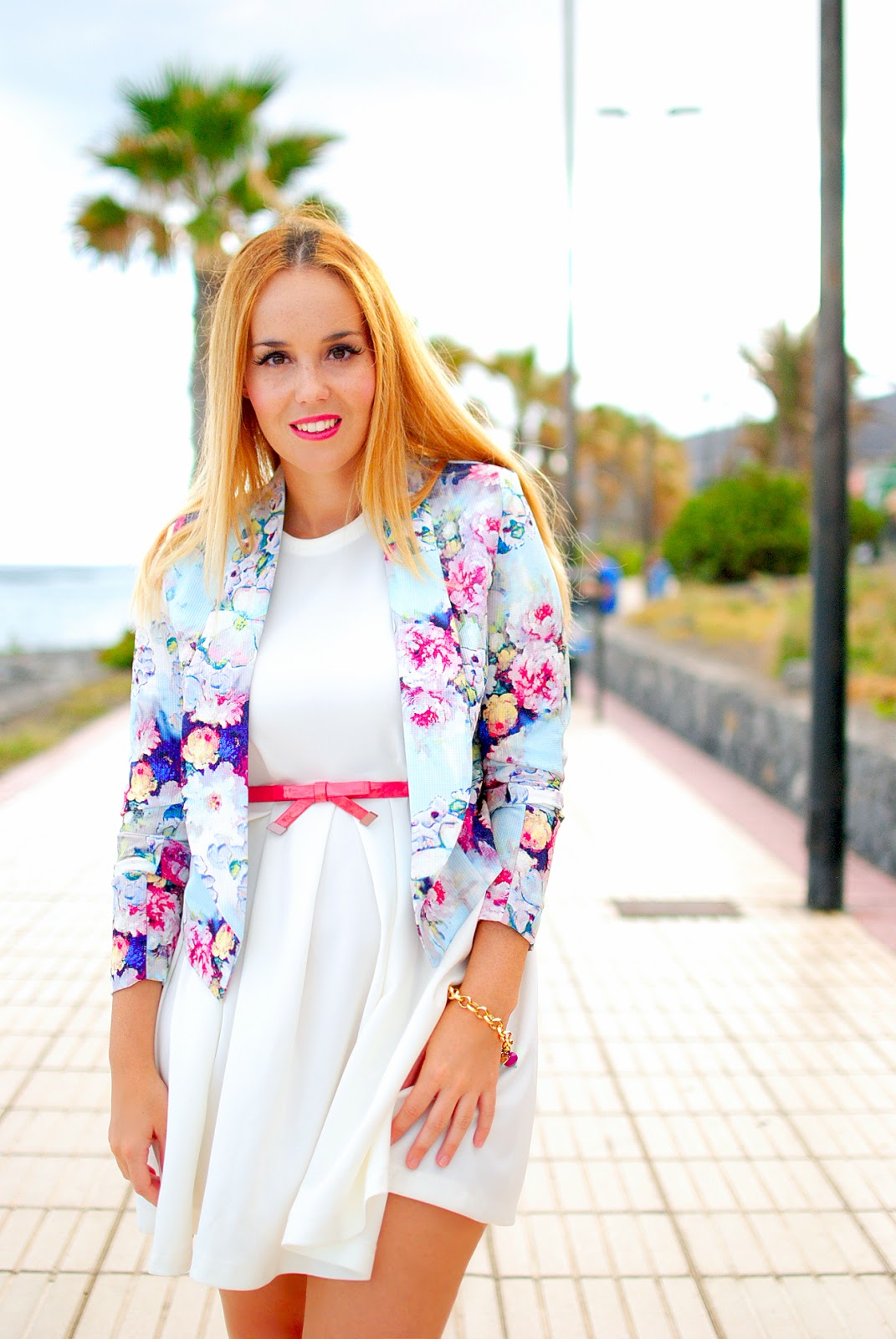 Nery hdez, mart of china, lovelywholesale, blazer , floral print, estampado flores