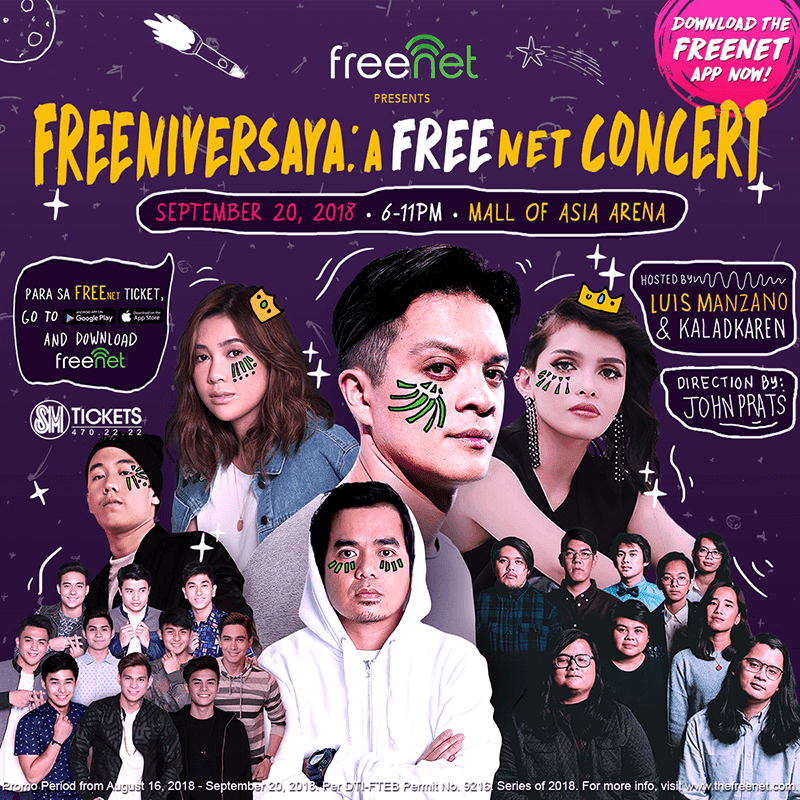 Five reasons why you should join FreeNet's Freeniversaya concert on September 20!