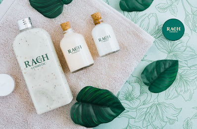 Rach Cosmetic Logo Hv Design