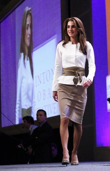 queen Rania fashion wo...