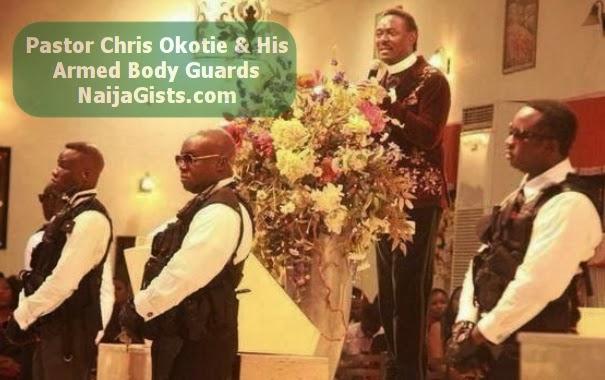 pastor chris okotie bodyguards