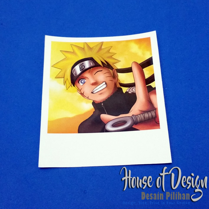 POSTER POLAROID ONE PIECE CUSTOM MURAH