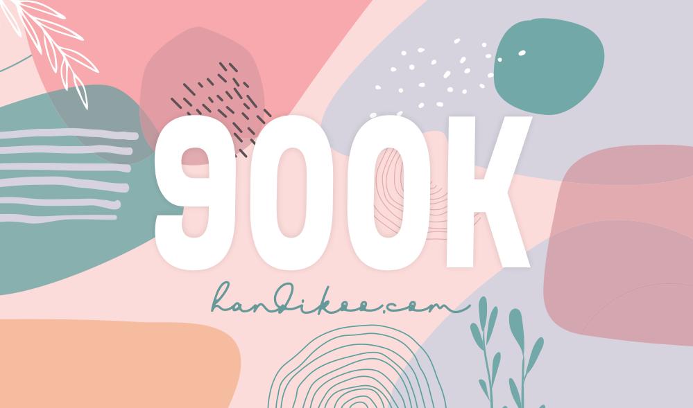 Blog Tembus 900K, Aku Nggak Percaya!