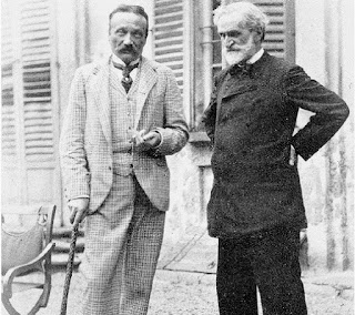 Boito and Verdi in 1892