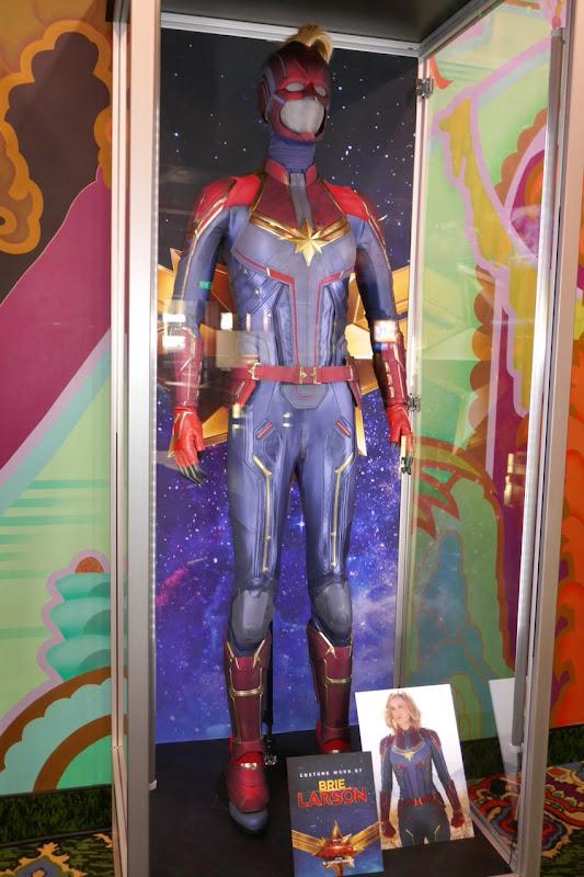 Brie Larson Captain Marvel movie costume