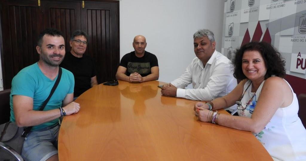 Fuerteventura.- Reunión entre Ayuntamiento de Puerto del Rosario y el Club deportivo Trotadunas - Fuerteventura Digital