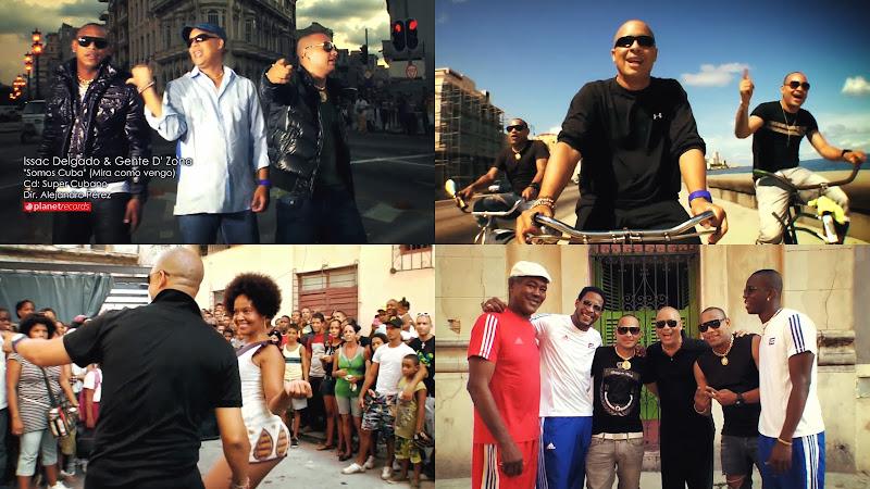 Issac Delgado & Gente de Zona - ¨Somos Cuba (Mira como vengo)¨ - Videoclip - Dirección: Alejandro Pérez. Portal Del Vídeo Clip Cubano