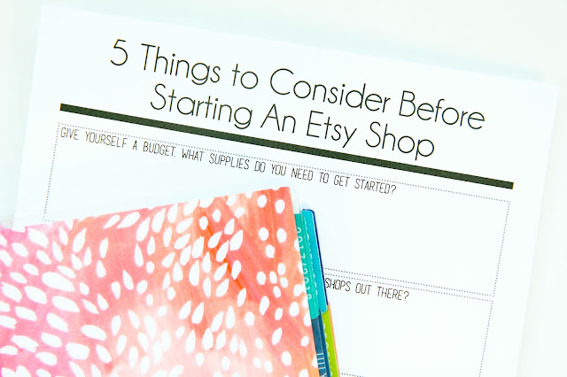5 Things to Consider Before Starting an Etsy Shop