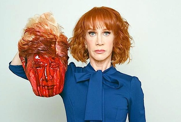 kathy griffin, unfunny, anorexic, America-hating, cunt, skag, wretch, maggot gagger