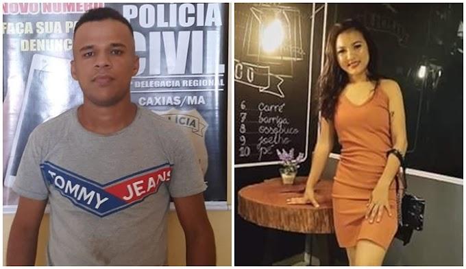 POLÍCIA - Acusado de matar namorada a tiros na frente de filha em Teresina é preso em Caxias após tentar registrar ocorrência