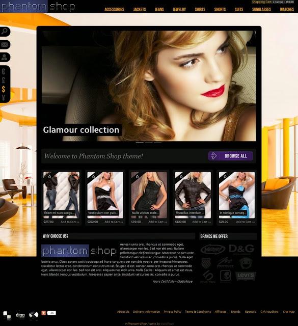thiết kế website bán hàng đẹp tuyệt vời 2