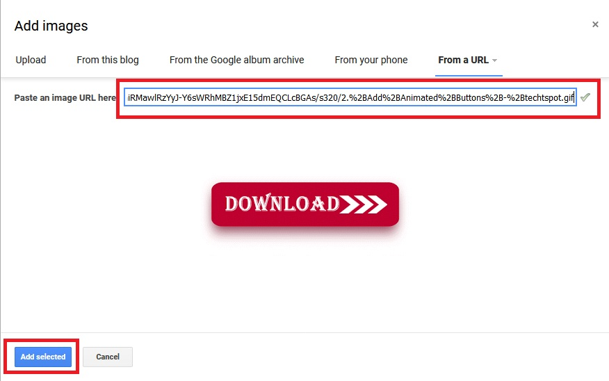 How to Create Animated Download Buttons In Blogger