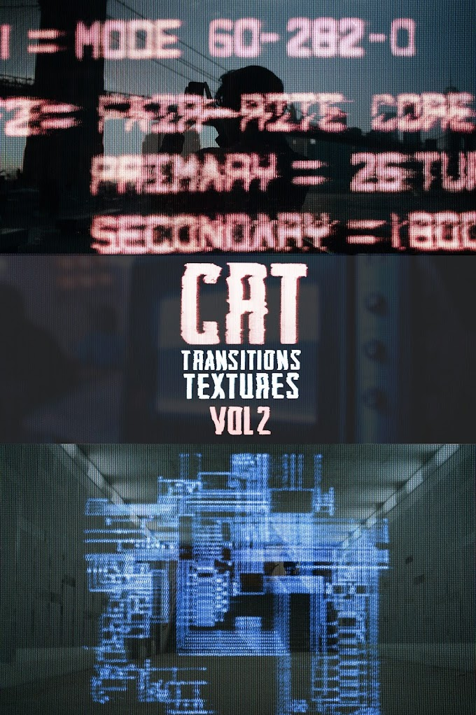 CRT TRANSITIONS + TEXTURES VOL 2[Master Filmmaker][Motion Graphics]