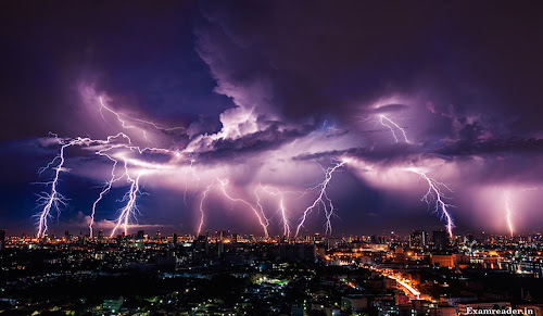 How do you stay safe during a thunderstorm ?