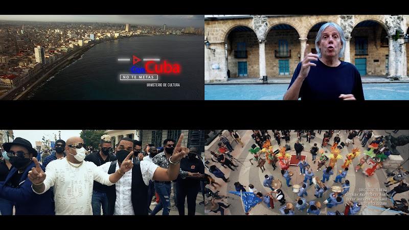 Virulo & Artistas Invitados - ¨Con Cuba no te metas¨ - Videoclip - Director: José Manuel García Sánchez. Portal Del Vídeo Clip Cubano. Música de Cuba.