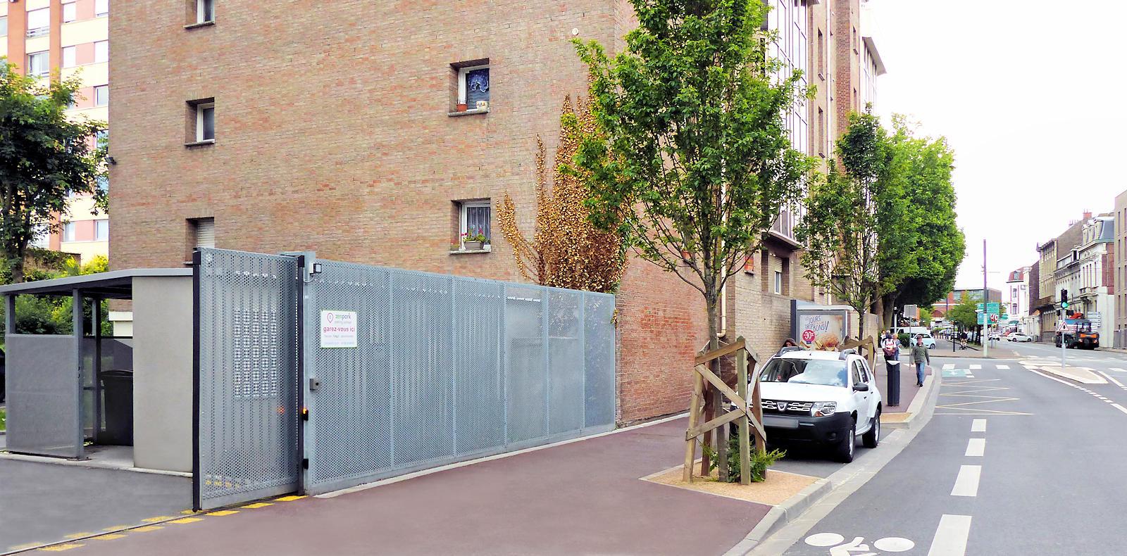 Rue Sasselange, Tourcoing - Parking zenpark Victoire