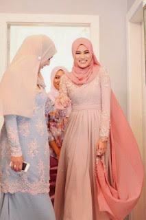 hijab modern untuk kebaya