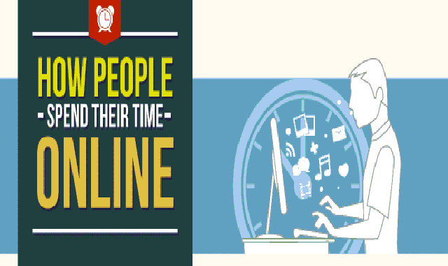 How People Spend Their Time Online #infographic