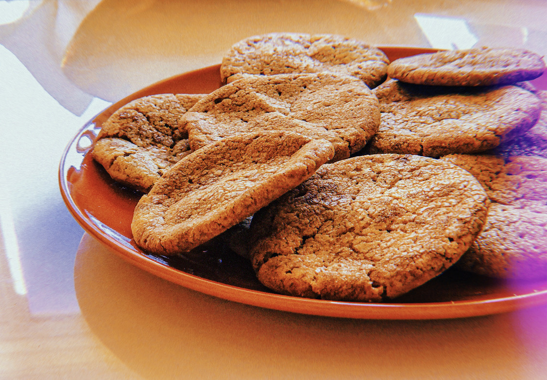 A SMALL PICK-ME-UP: NUTELLA COOKIES