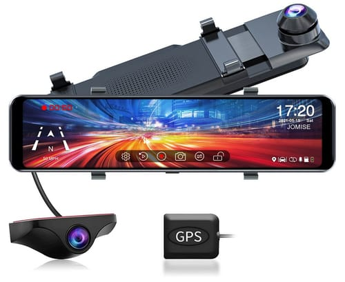 JOMISE G810 FHD Touch Screen Mirror Dash Cam for Cars