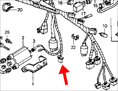 04 Shadow 600 Ignition Coil Wiring Diagram : 42 Wiring
