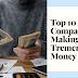 Top 10 SaaS Companies Making Tremendous Money in 2021