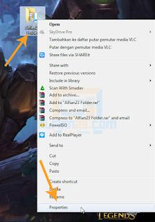menghilangkan folder di windows 7
