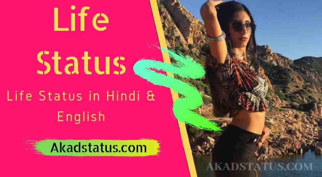 Life status in English :