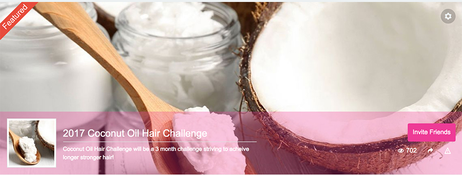 Coconutoil Challenge Hairlicious Inc