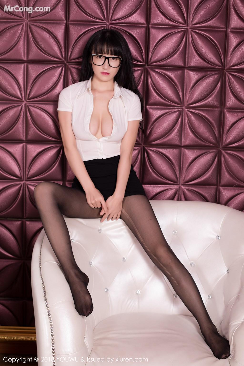 Image YouWu-Vol.102-Xiao-Tan-Ge-MrCong.com-009 in post YouWu Vol.102: Người mẫu Xiao Tan Ge (小探戈) (42 ảnh)