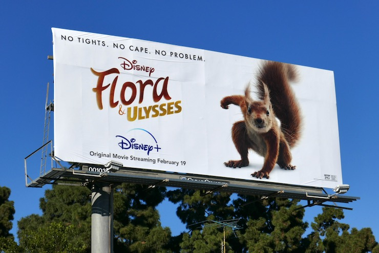 Flora Ulysses film billboard
