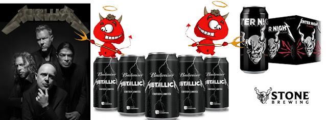 Cervezas de Metallica.