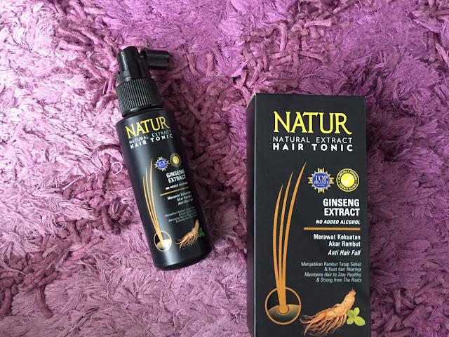 Natur Hair Tonic Gingseng