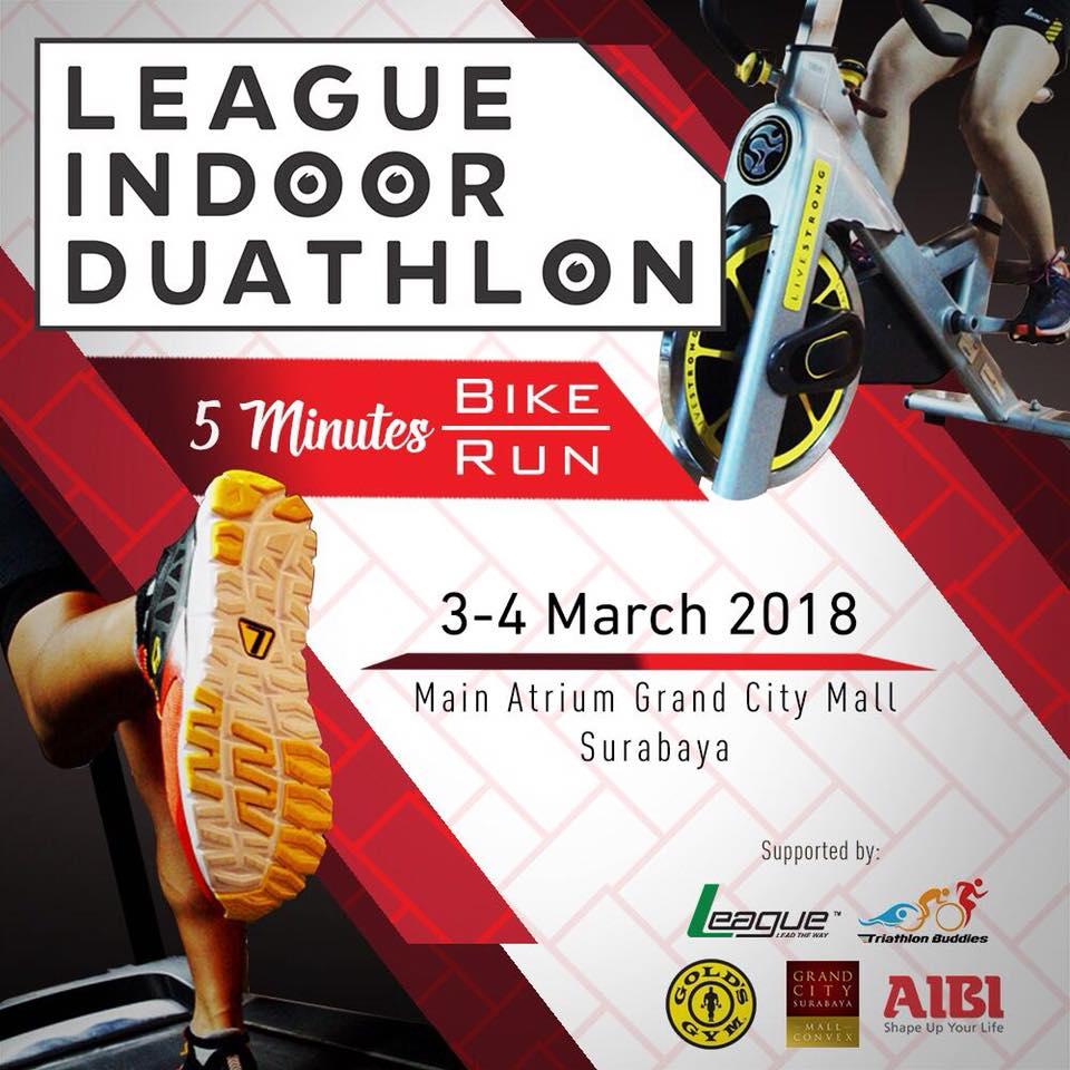League Indoor Duathlon Challenge • 2018