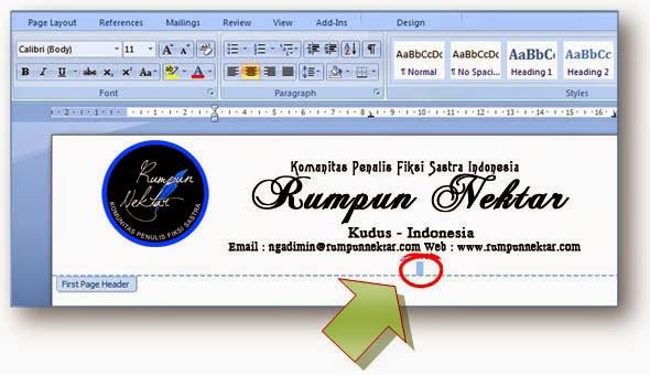 Cara Membuat Kop Surat Memakai Microsoft Word | Komunitas ...